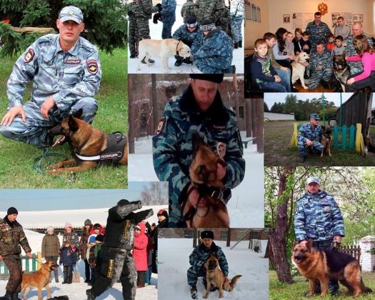 Служебные собаки помогли раскрыть более 1 тыс. преступлений алтайским полицейским, фото ГУ МВД РФ по Алтайскому краю