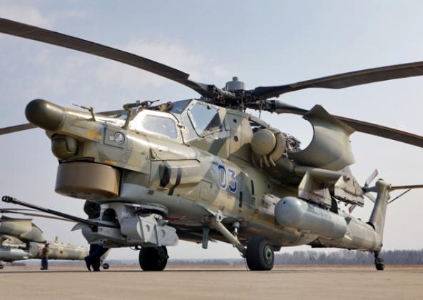 Вертолет Ми-28Н «Ночной охотник». Фото: mil.ru