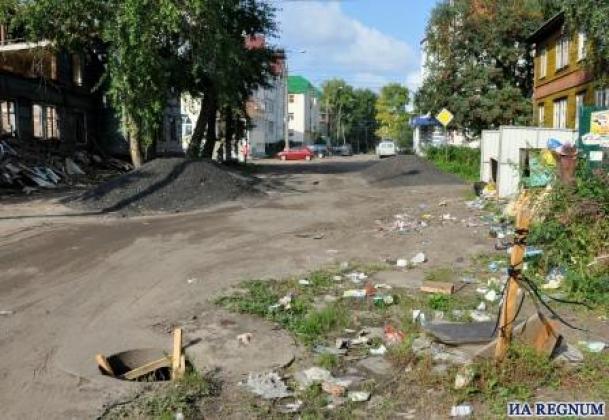 Центр Архангельска, проспект Советских Космонавтов