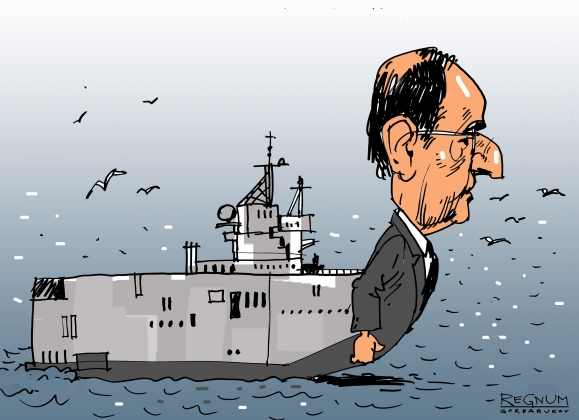 Летучий голландец продал себя: Египет купил у Франции «Мистрали»