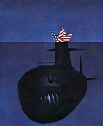 Новая американская атомная подлодка получила проклятие от Мишель Обамы