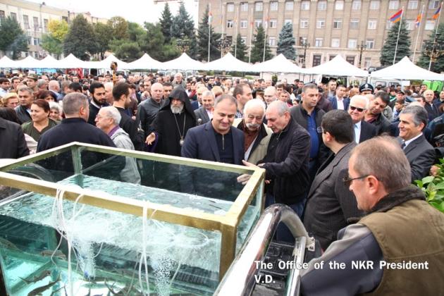 В Нагорном Карабахе отметили День работника сельского хозяйства