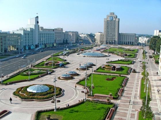 «Майдана» не получилось. Площадь Независимости, Минск.