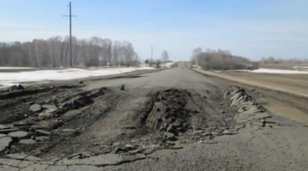 Дорога автомобильной смерти существует на Алтае