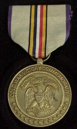 Cold War Service Medal — Медаль «За участие в холодной войне» (США).