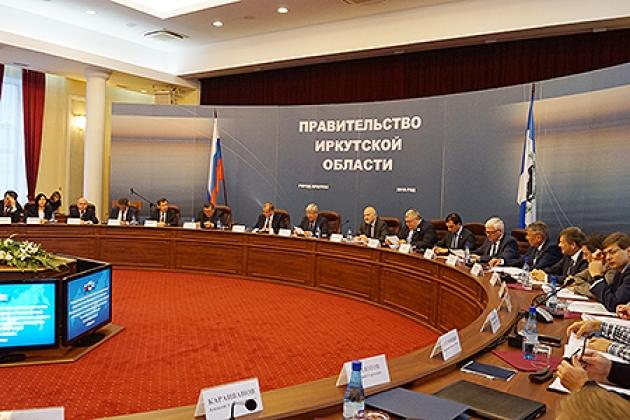 Заседание Координационного совета по социально-экономическому развитию Байкальского региона в Иркутске. Фото пресс-службы полпреда в СФО