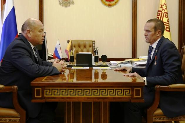 В администрации Чебоксарского района силовики провели выемку документов