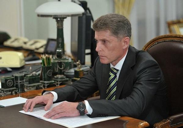 Губернатор Сахалинской области Олег Кожемяко.