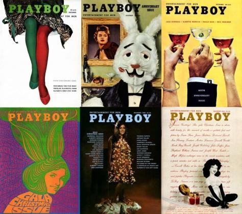 Playboy обложки.