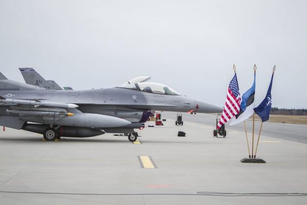 Аэродром НАТО в Эмари (Эстония) начисто освободят от гражданской авиации