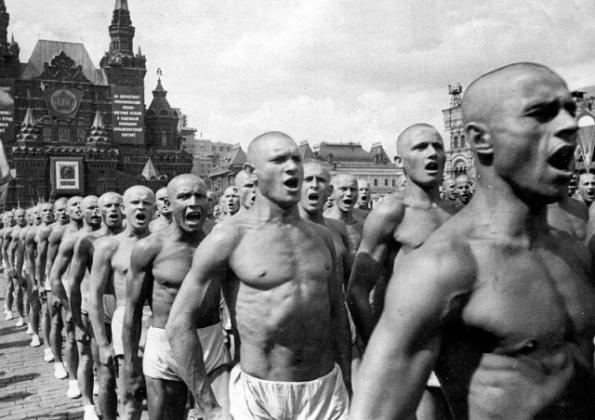 Всесоюзный парад физкультурников. Москва, 1937