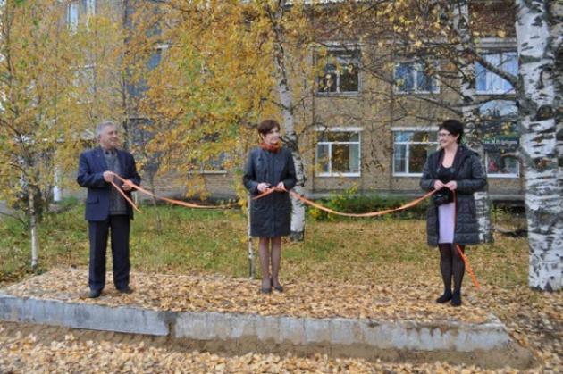 Открытие остановки в Корткеросе. Кадр: zvezdakomi.ru