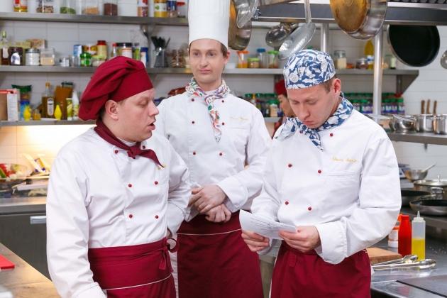 Кухня, сериал. Создатель: Виталий Шляппо. (2012— 2015).
