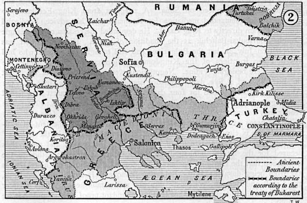 Коллективное самоубийство союзников при дележе Македонии