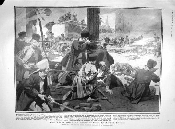Персия. 1910-1914. Незавершившийся кризис