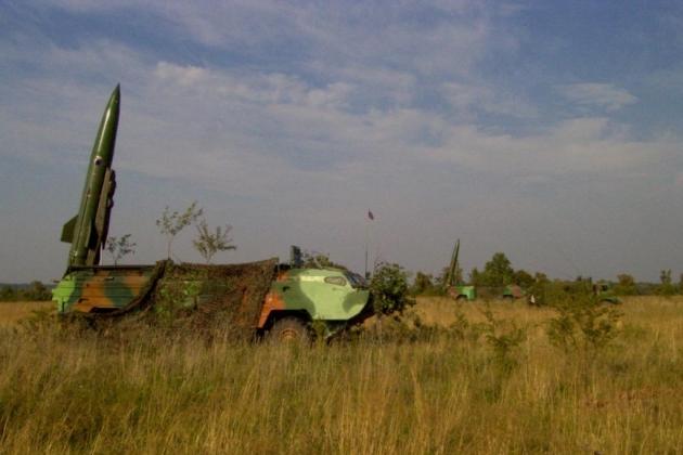 Ракетные комплексы «Точка» в Калининградской области. Фото предоставлено штабом Балтфлота.