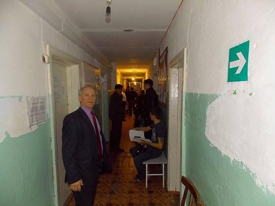 Поликлиника, где ведут прием солтонские врачи, фото Юрия Красильникова