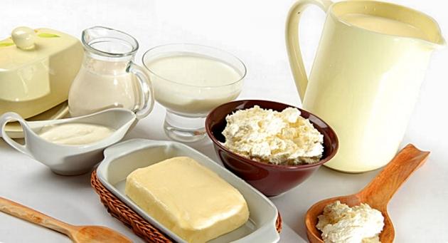 Молочная продукция.