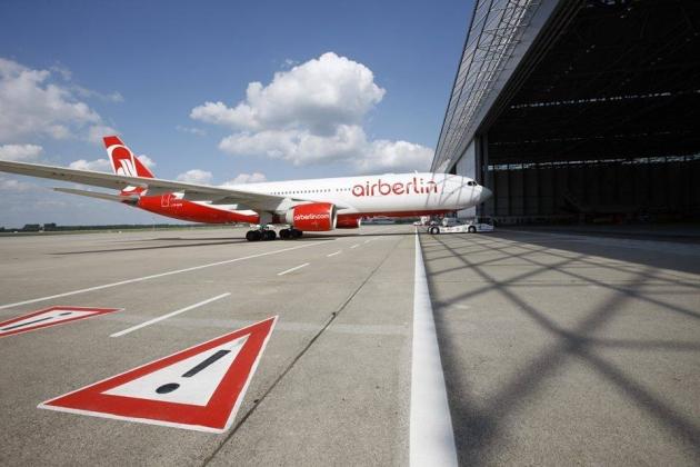 Air Berlin прекращает полёты в Россию с 18 января 2016 года.