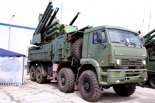 ЗРПК «Панцирь-С1».