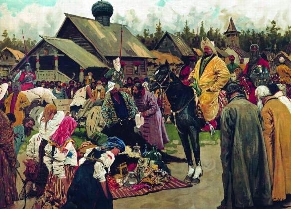 Сергей Иванов. Баскаки. 1909