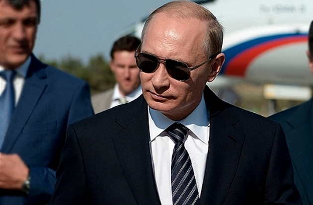 Владимир Путин. Иллюстрация: nur.kz