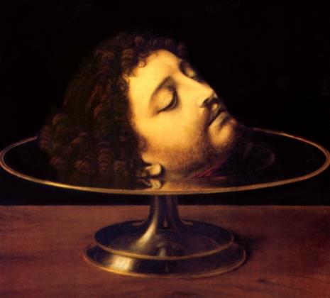 Андреа Соларио. Голова Иоанна Крестителя. 1507
