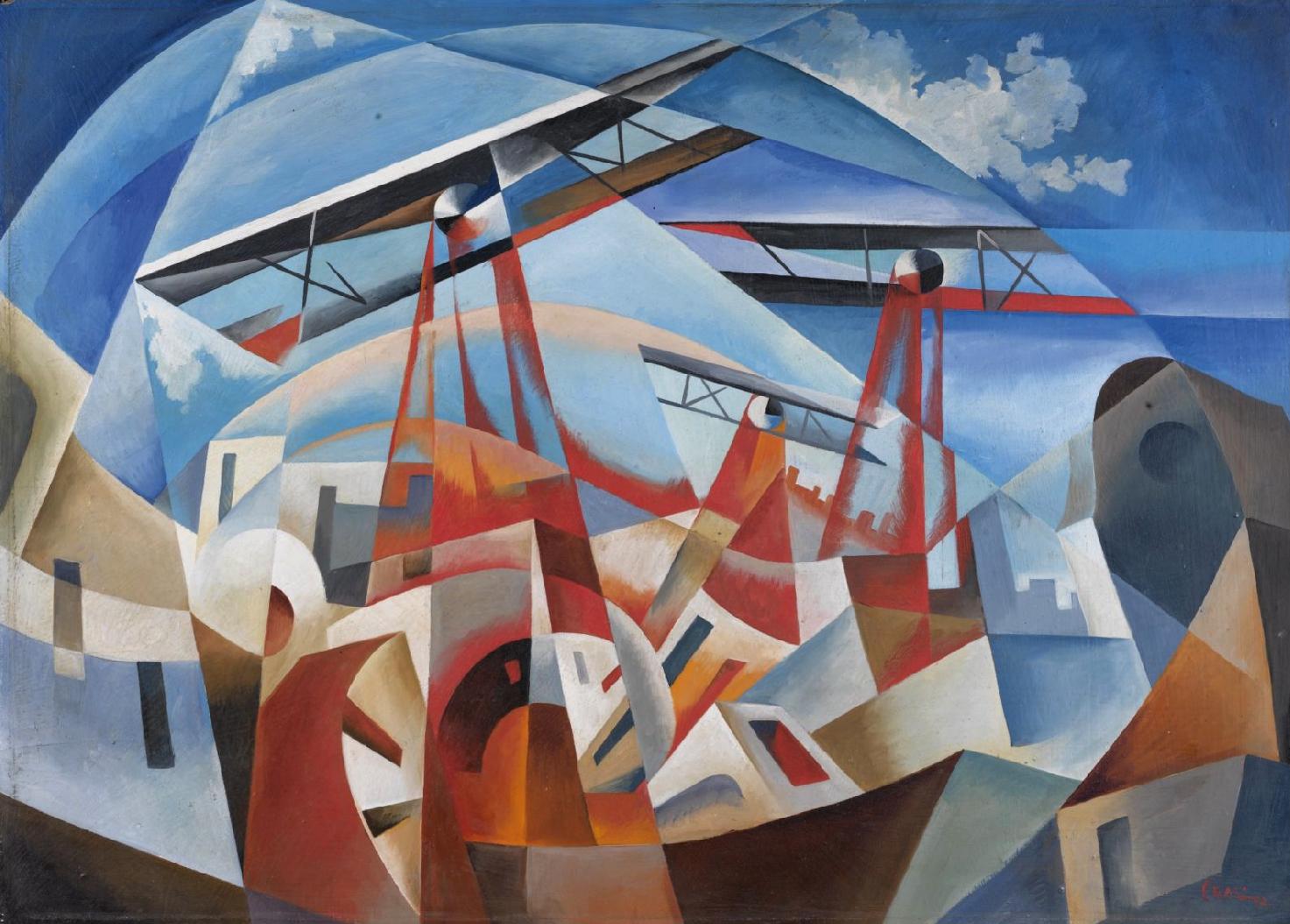 Туллио Крали. Бомбардировка. 1932