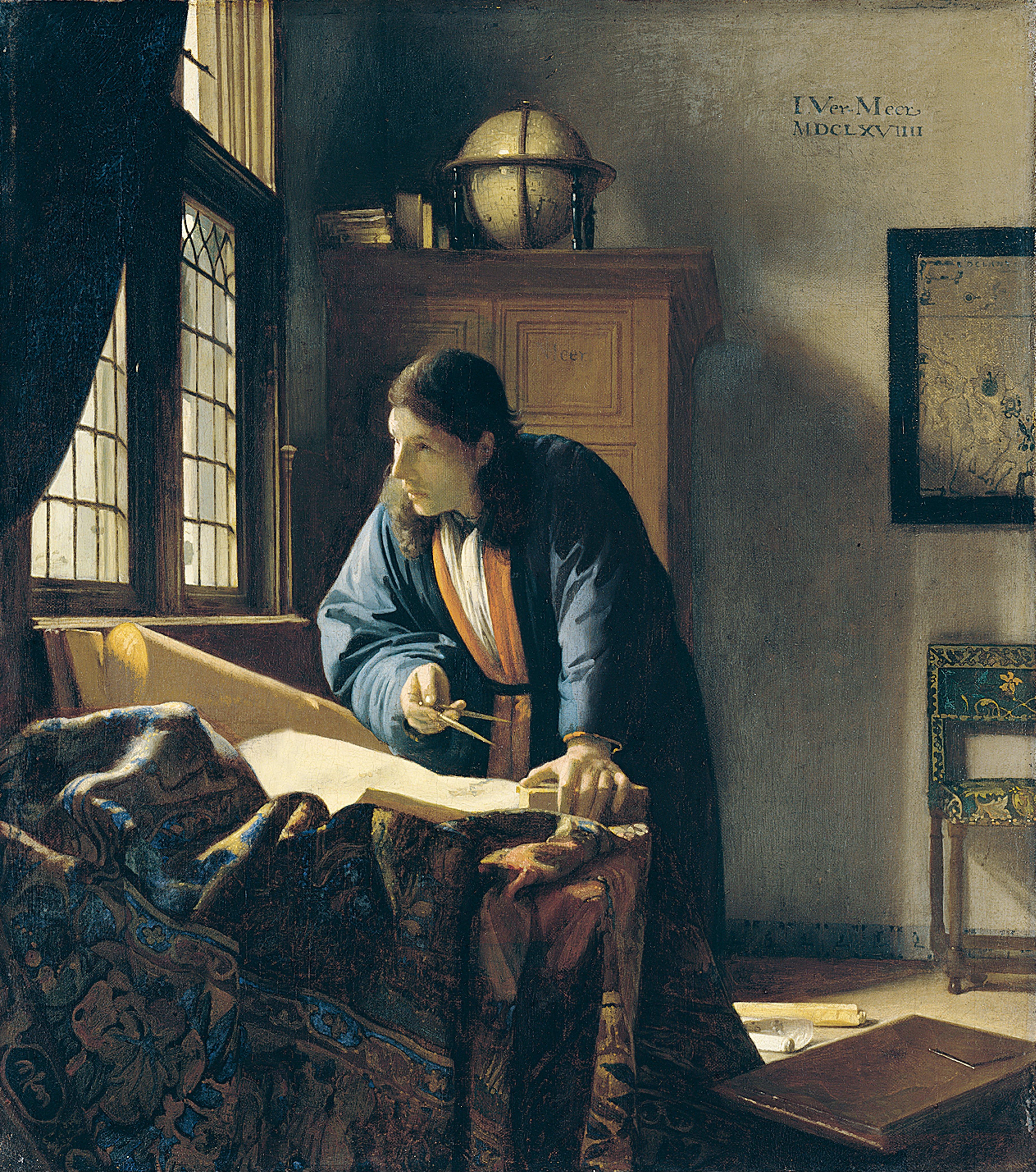 Географ (ок. 1668)