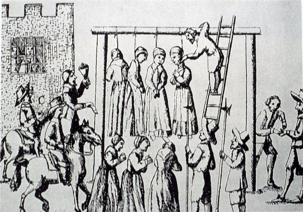 a history of witchcraft during the 17th century in new england It has long been understood that the prime motive for the founding of the new england colonies  1643 during a conflict  of witchcraft throughout new england.
