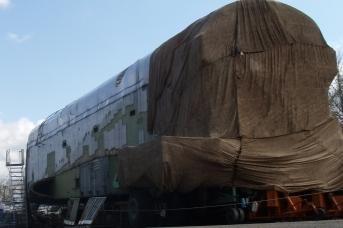 Останки советского космического корабля многоразового использования «Буран»
