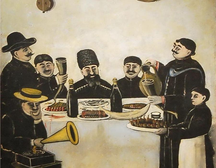 Поздравление гости с кавказа