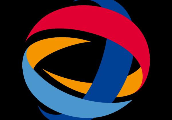 Логотип компании «Тоталь». Фрагмент