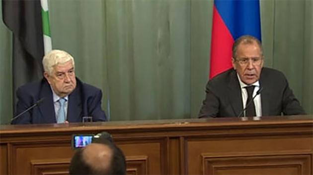 Ответный удар: о чём говорили главы МИД России и Сирии?