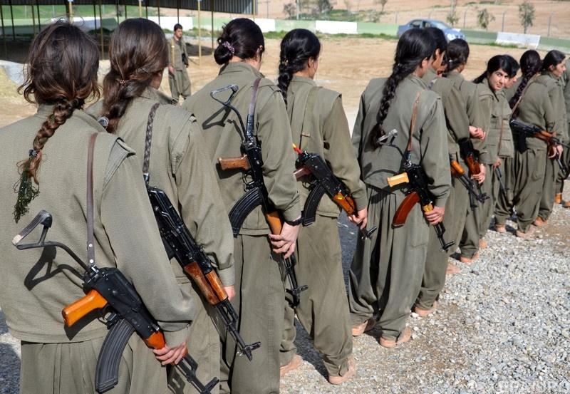 Женское курдское ополчение