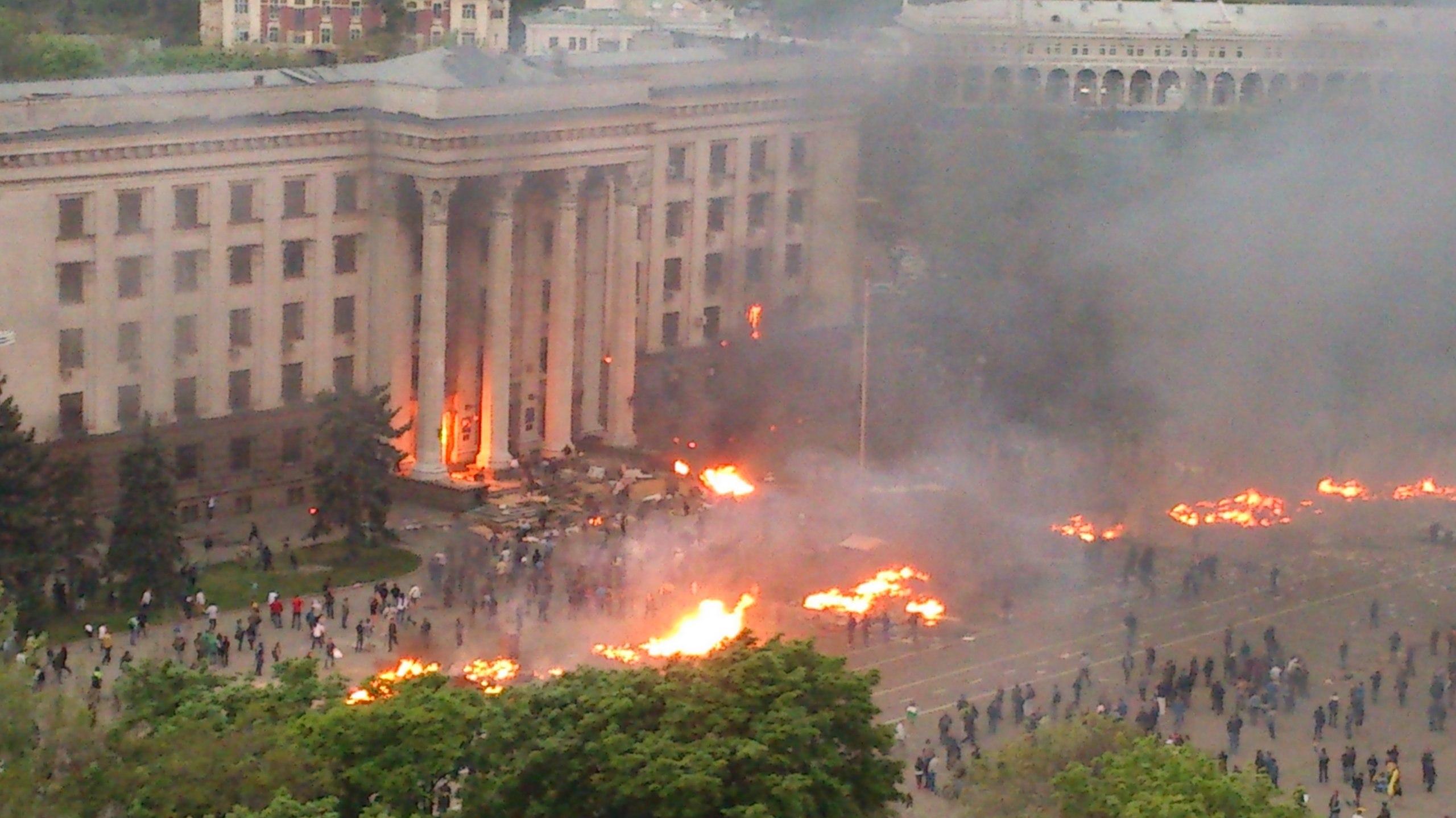 Преступное молчание: трагедия 2 мая в Одессе – под запретом Киева