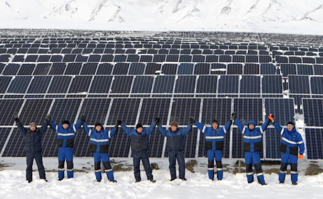 На Алтае ввели в строй вторую солнечную электростанцию