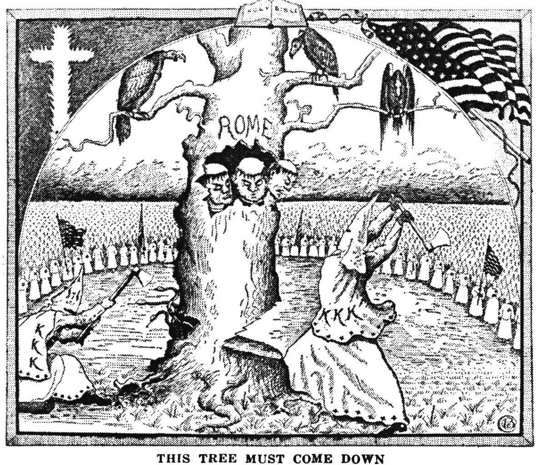 Карикатура. 1925