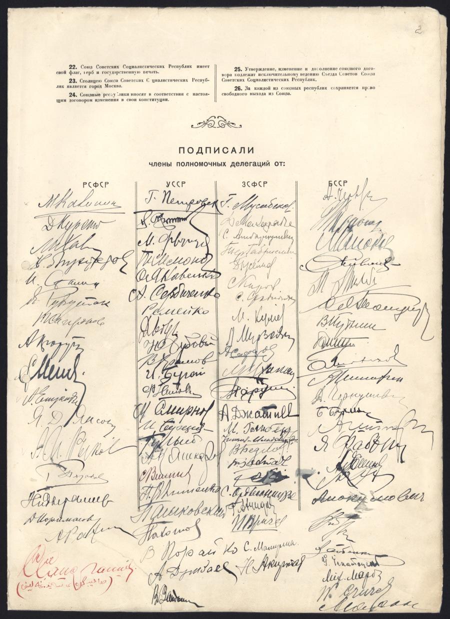 Договор об образовании Союза Советских Социалистических Республик 1922 3 страница