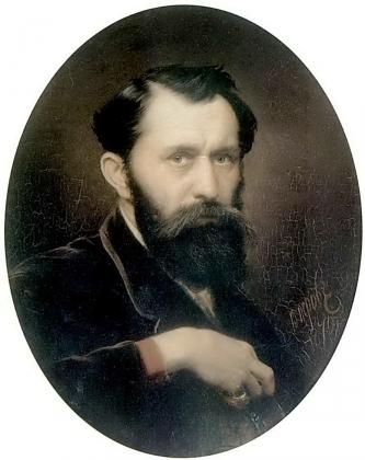 Василий Перов. Автопортрет. 1870
