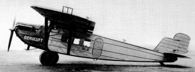 Самолет Дорнье-Меркур, 1925