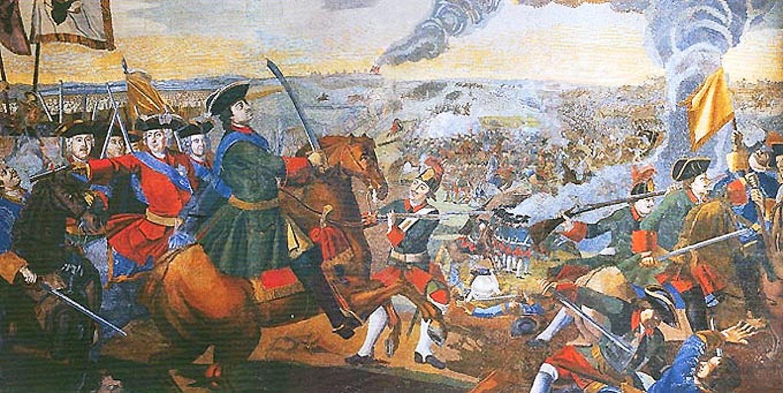 Михаил Ломоносов. Полтавская баталия. Мозаика. 1762–1764