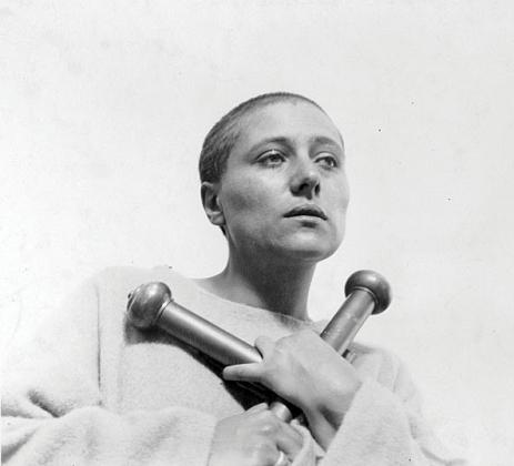 Мария Фальконетти в роли Жанны д`Арк
