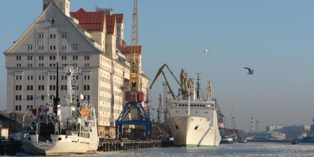 Порт Калининграда