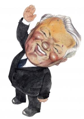 Борис Ельцин шлёт привет своим поклонникам