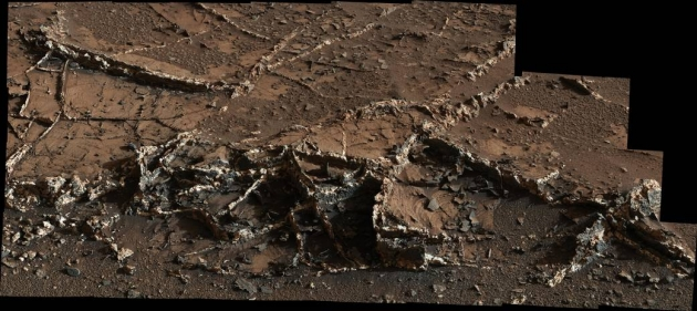 Вены на Марсе