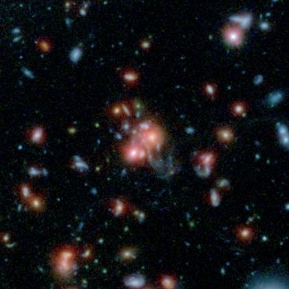 Скопление галактик SpARCS1049+56