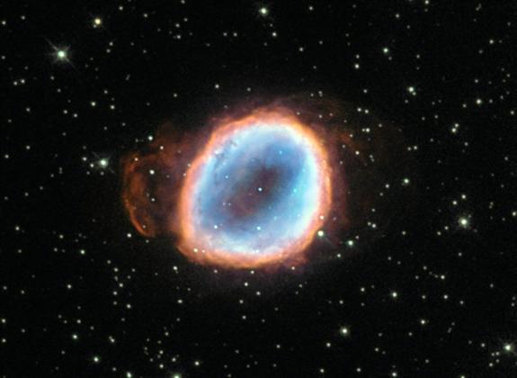 Умирающая звезда NGC 6565