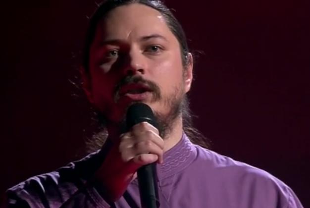Первый канал, 2015 год. Выступление отца Фотия в телешоу «Голос»