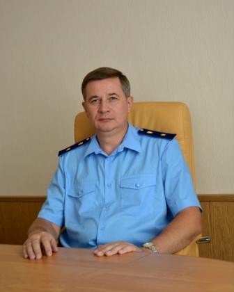 Первый заместитель прокурора Оренбургской области Алексей Волков